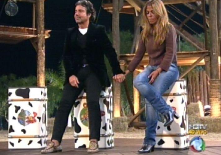 Raquel e João aguardam o resultado da Roça (18/8/2011)
