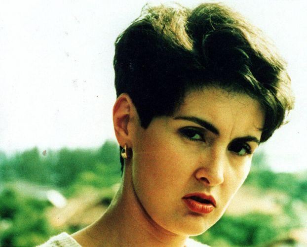 A apresentadora de televisão Fátima Bernardes em no início da carreira (22/12/1997)