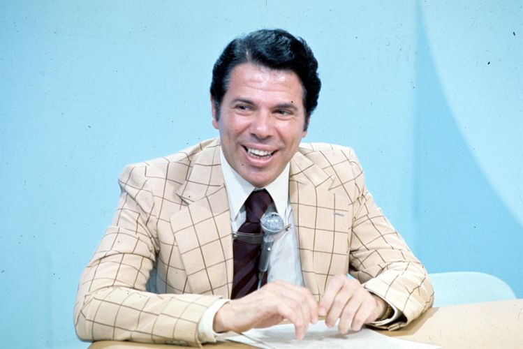 Silvio Santos nos anos 70, quando ainda era contratado da TV Globo