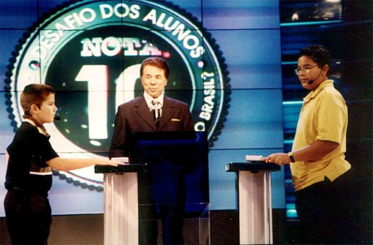 Silvio Santos no especial do SBT