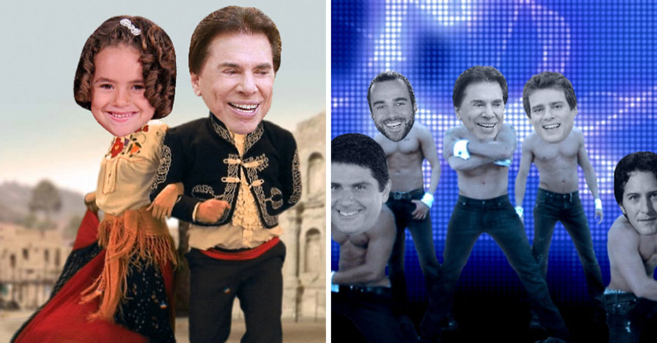 Para comemorar os 28 anos do SBT, completados no dia 19 de agosto de 2009, a emissora lançou vinhetas divertidas com os apresentadores, incluindo Silvio Santos. Ele apareceu em montagens de braços dados com Maisa e dançando como um go-go boy, ao lado dos outros rapazes da emissora