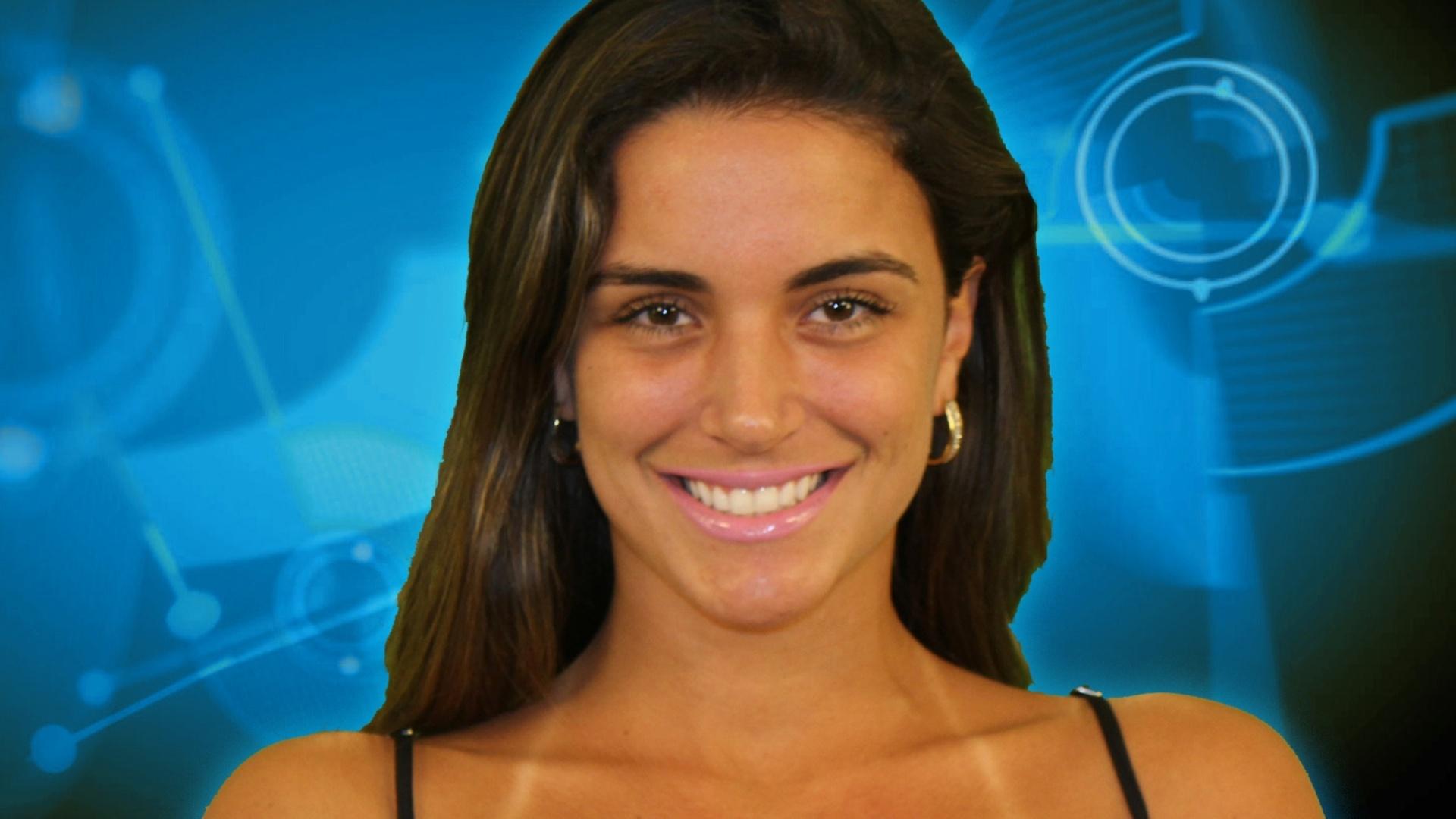 Laisa, 25 anos, estudante de medicina, do Rio Grande do Sul, participante do BBB 12 (jan/2012)