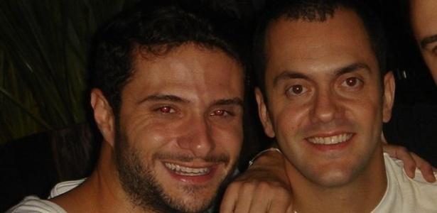 Ronaldo em foto com o amigo Rafael (06/01/12)