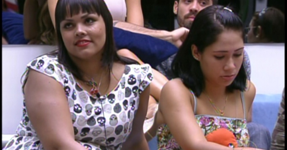 Analice e Jakeline recebem notcia do Bial (17/1/12)