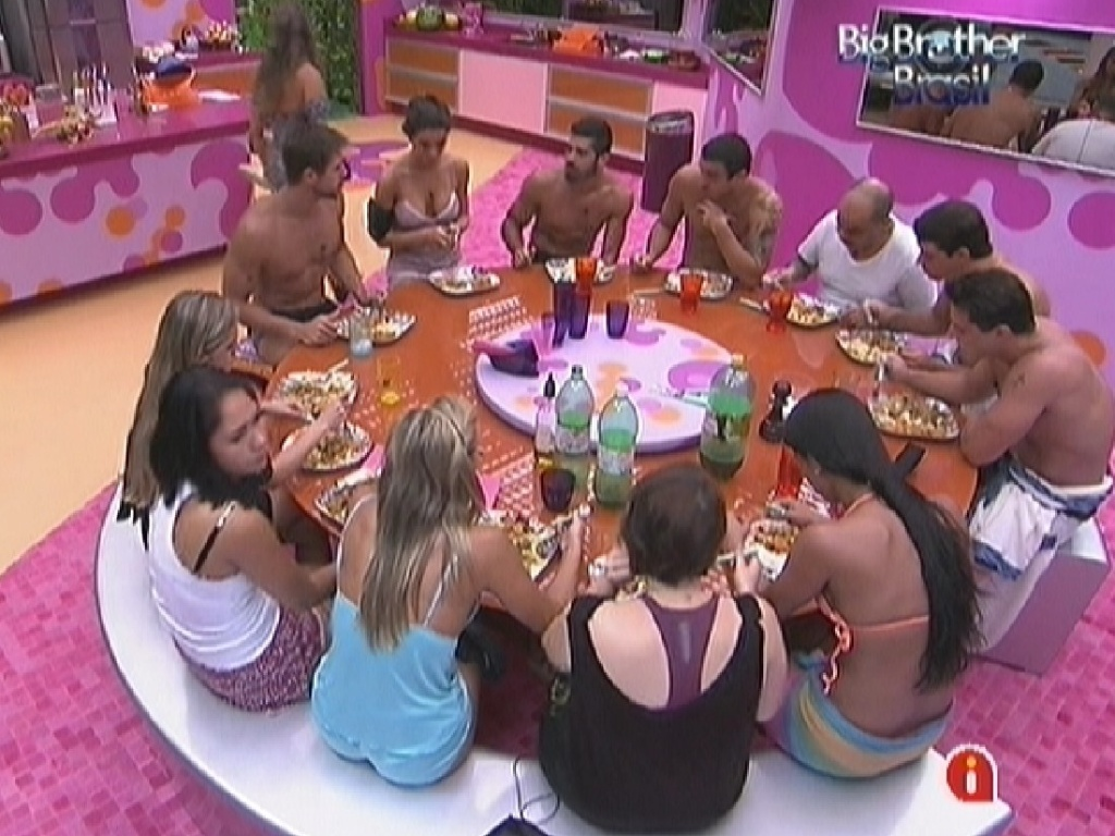 Brothers se renem para almoar (19/1/12)