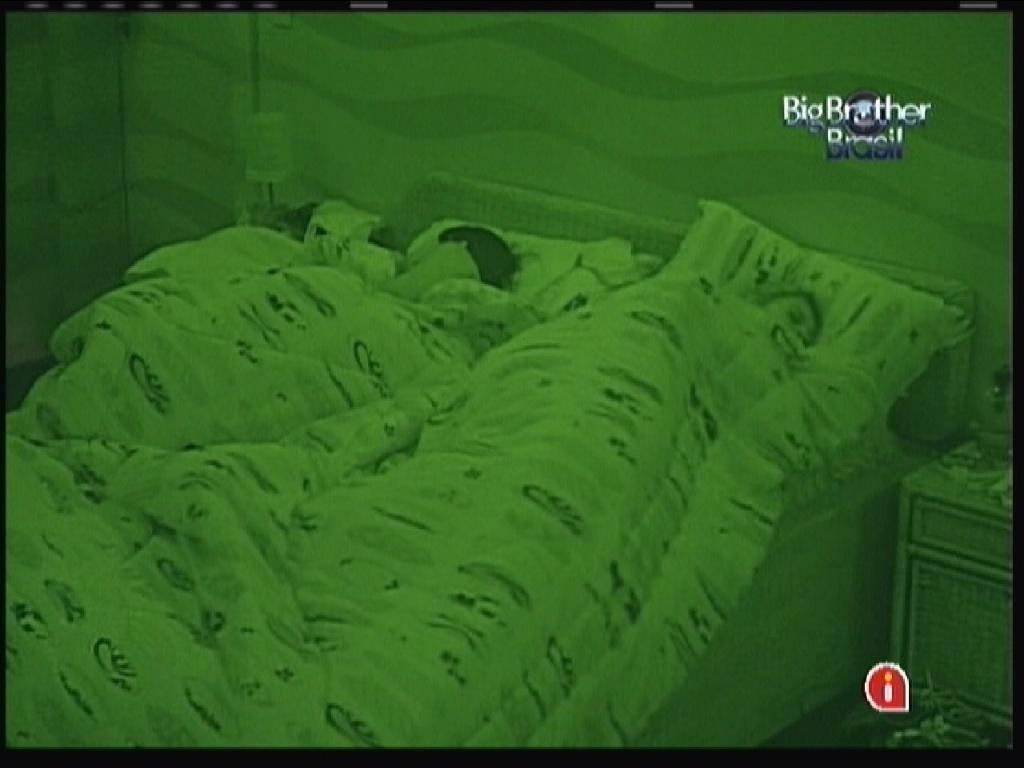 Kelly e Mayara dormem nesta sexta-feira (20/1/12)