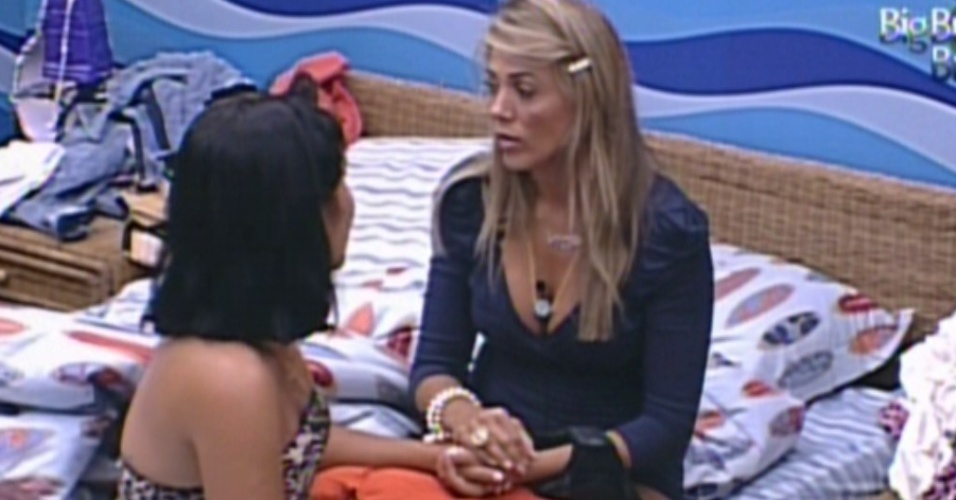 Fabiana apoia Jake aps paredo (22/1/12)