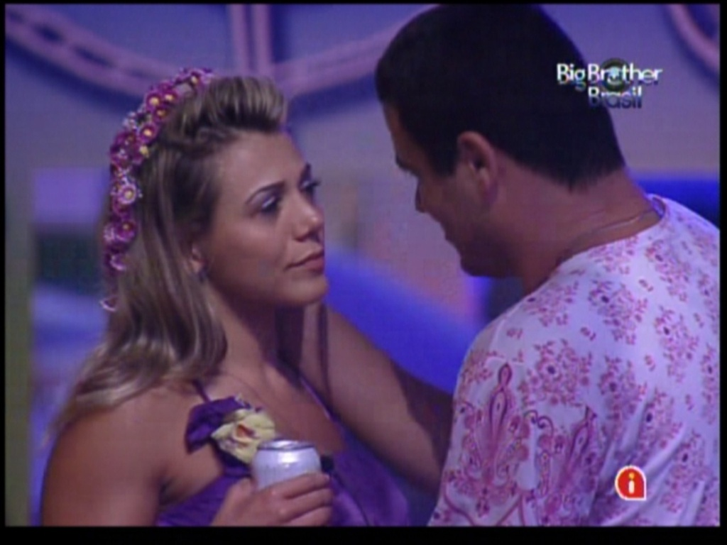 Rafa consola Fabiana (28/1/12)