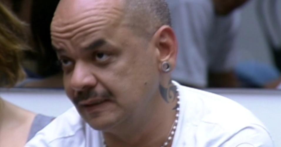 João Carvalho responde que acha que nem todos os participantes são sinceros, que