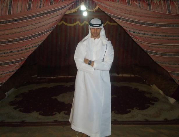 Jonas na capital dos Emirados Árabes, Abu Dhabi