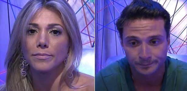 Fabiana e Ronaldo são escolhidos para o quarto paredão do reality (6/2/12)