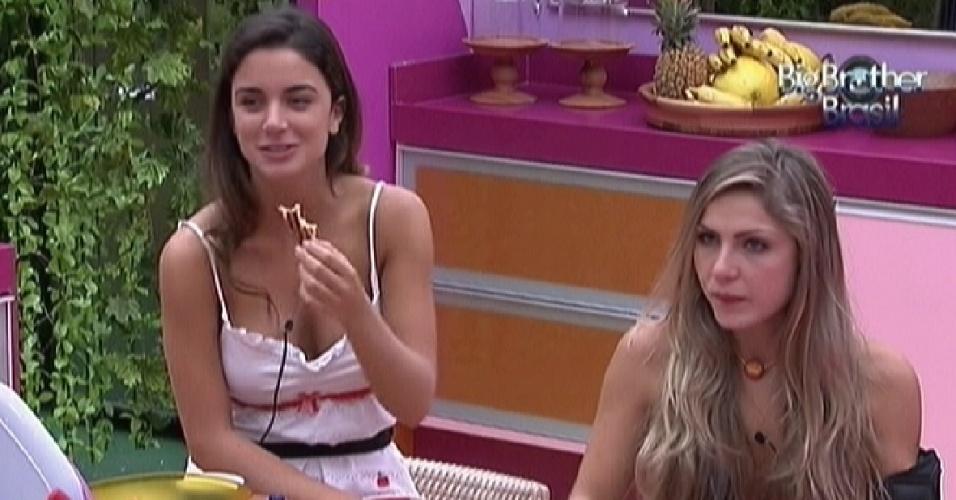 Laisa acha que na festa desta quarta terá show de Michel Teló