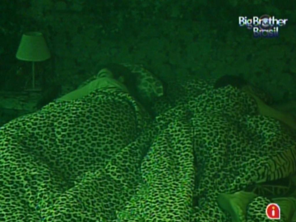 Brothers dormem, após Yuri conquistar a liderança (17/2/12)