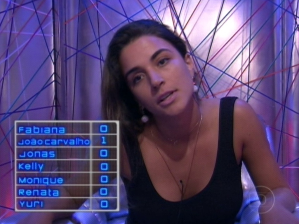 Laisa vota em Joo Carvalho (19/2/12)