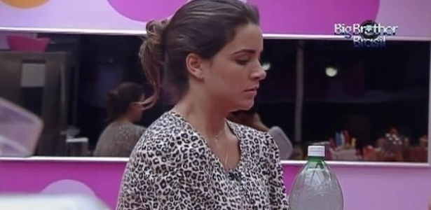 Laisa est com medo de sair do programa (20/2/12)