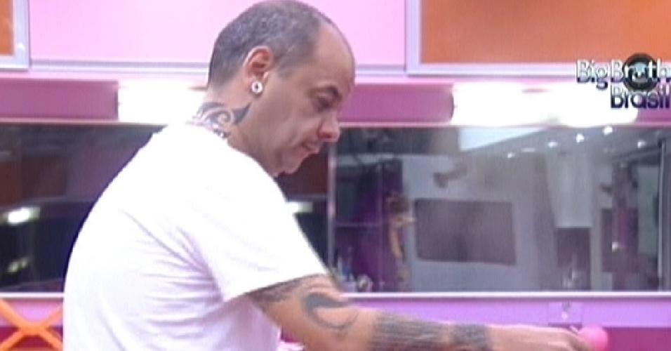João Carvalho prepara o almoço (22/2/12)