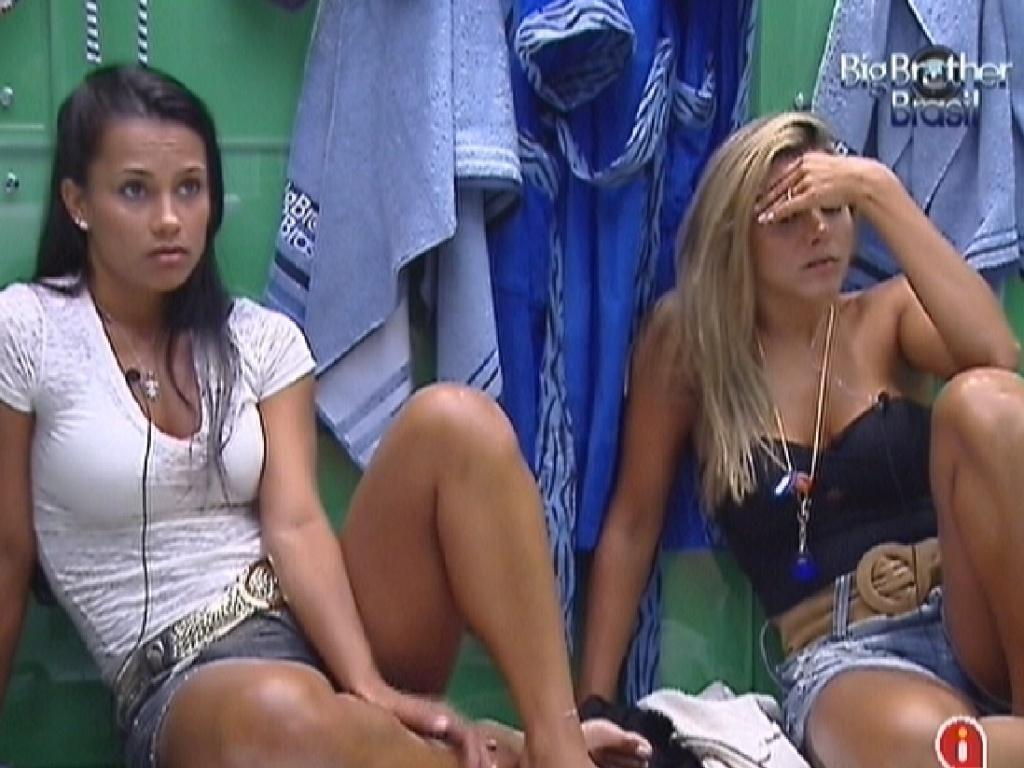 Kelly e Fabiana comentam sobre jogo da discórdia (28/2/12)