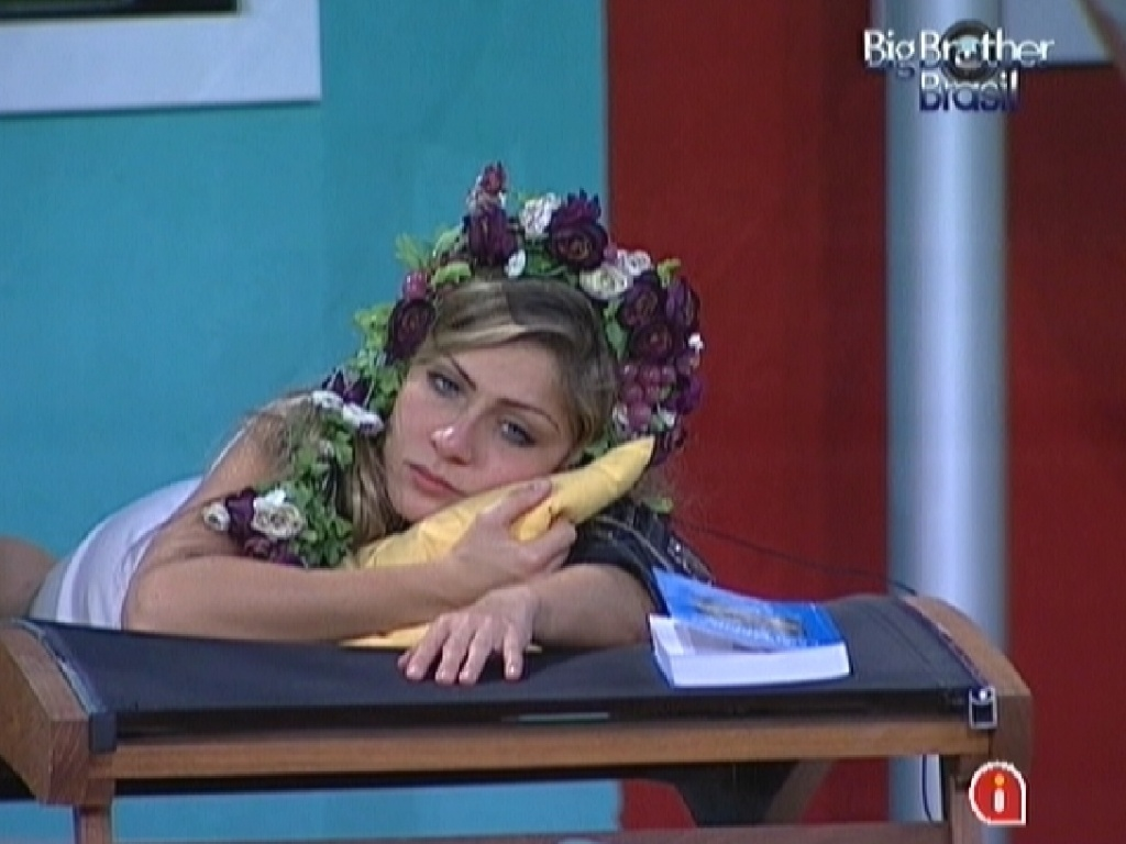 Renata fala sobre abstinência sexual (2/3/12)