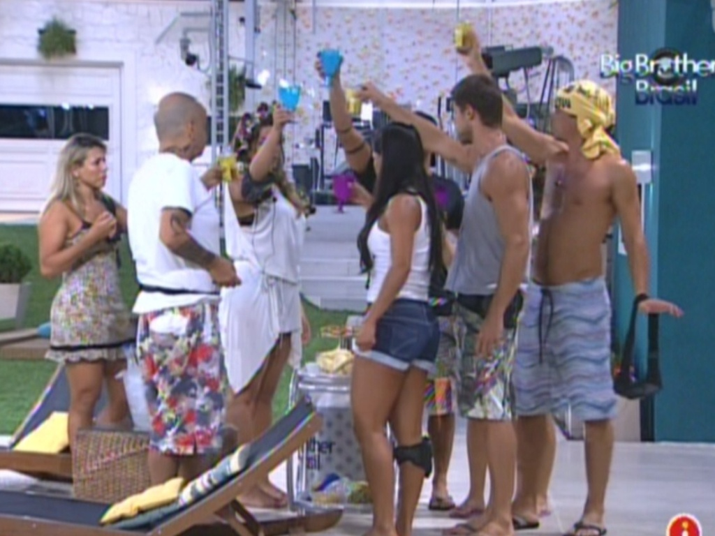 Brothers brindam com chegada de bebidas e comidas (3/3/12)