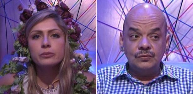 Renata e João Carvalho disputam o oitavo paredão do programa (4/3/12)