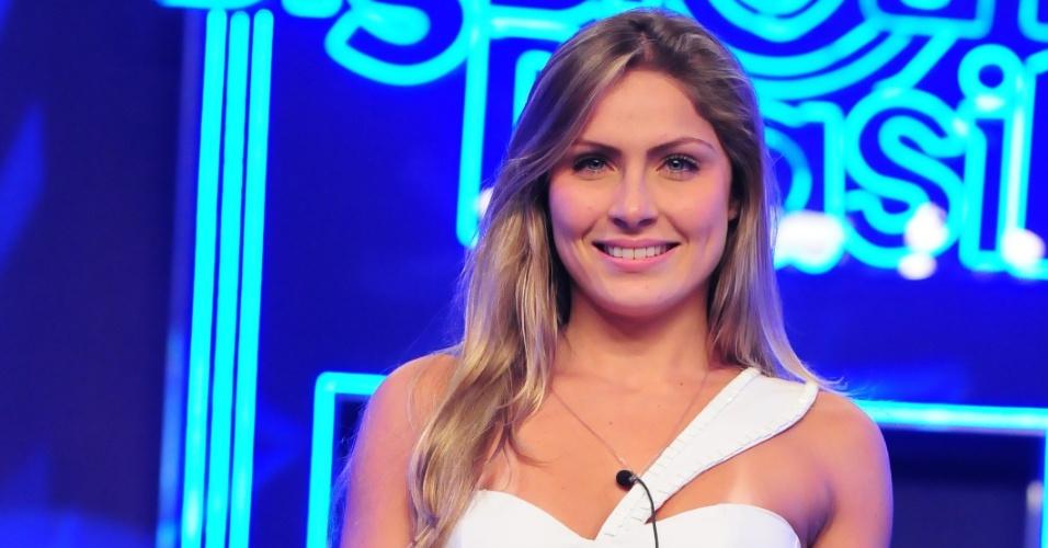 Renata foi a oitava participante eliminada do