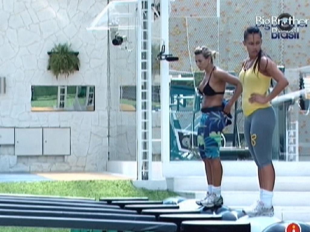 Fabiana e Kelly disputam liderança (9/3/12)