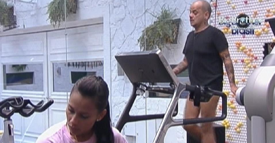 Kelly e João Carvalho malham na tarde deste domingo (11/3/12)