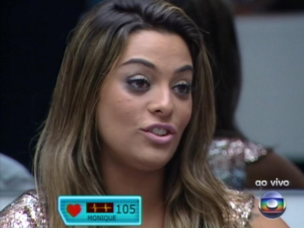 Questionada por Bial, Monique diz ter sido impulsiva demais (18/3/12)
