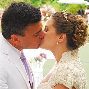 Maria e Marcelo se casam; veja as cenas do �ltimo cap�tulo da trama