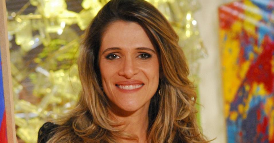 A atriz da TV Globo Ingrid Guimarães