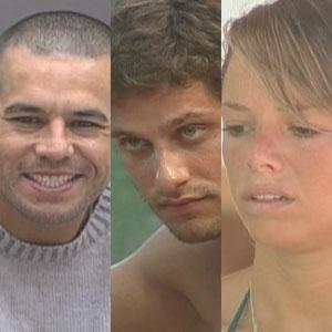 Predão do BBB: Alex, Eliéser, Fernanda