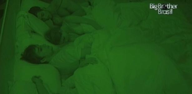 Quarteto foi dormir tarde após brincadeiras (17/2/10)