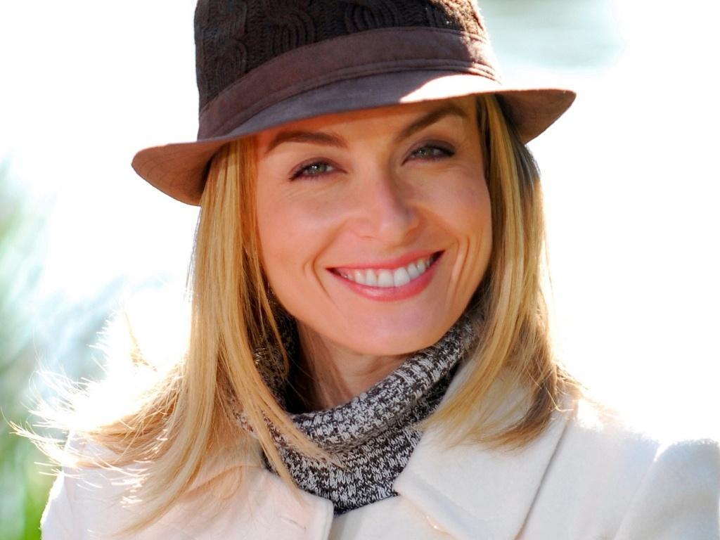 A apresentadora Angélica no programa