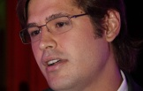 Dado Dolabella na premiação Atitude Carioca, no Jockey Club, Rio de Janeiro (28/1/10)