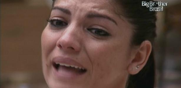 Maroca chora e diz que quer chegar a final a qualquer custo (12/3/10)