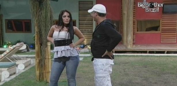 Anamara dança e Dimmy vai conversar com ela (16/3/10)