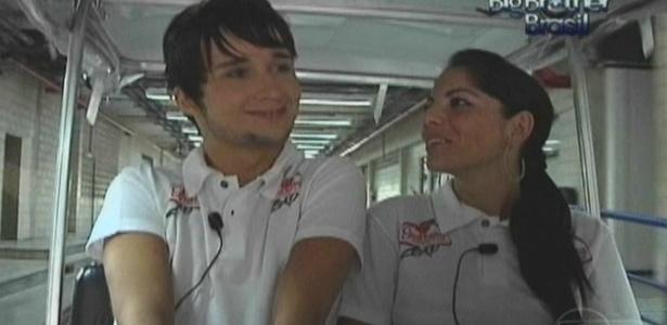 Anamara e Sérgio viajam para Angra dos Reis (16/3/10)