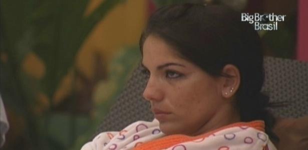 Anamara acha que não vai conseguir resistir na prova e já está no paredão (18/3/10)