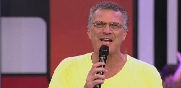 Bial dá início ao programa deste sábado (27/3/10)