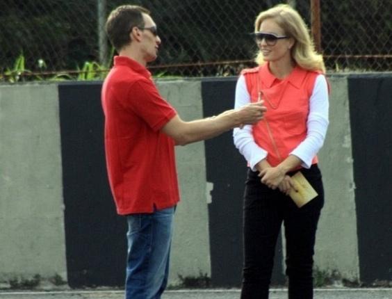 Luciano Burti é entrevistado por Angélica para o