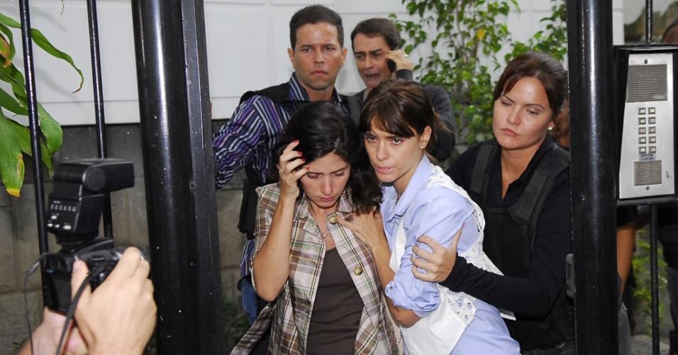 Diana vai parar na delegacia em cilada armada por Clara (3/06/2010)