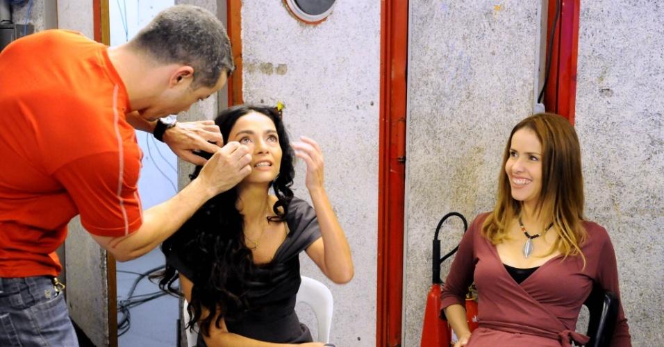 """Claudia Ohana e Leona Cavalli participam da série """"Autor por Autor"""" da TV Cultura (17/06/2010)"""