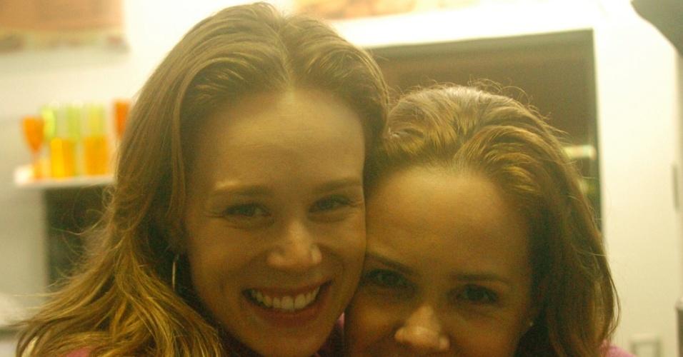 As atrizes Mariana Ximenes e Debora Duboc, que atuam em