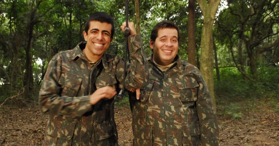 Marcius Melhem e Leandro Hassum vivem