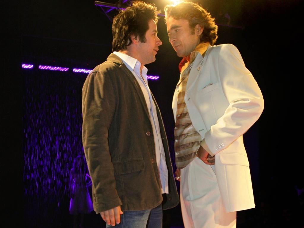 Victor Valentin (Murilo Benício) e Jacques Leclair (Alexandre Borges) serãi inimigos em