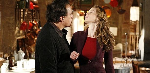Tony Ramos e Mariana Ximenes em cena de