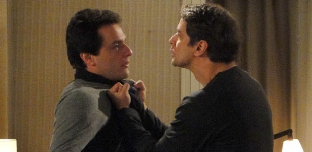 Rodrigo Lombardi e Marcello Antony em cena de