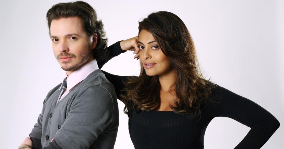 Tiago Parente e Juliana Paes comanda o reality show