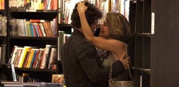 Daniel de Oliveira e Maitê Proença gravam cenas de