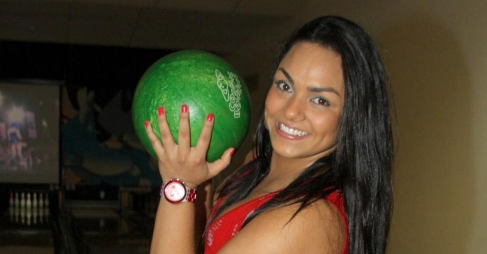 Andressa Soares (Mulher Melancia), uma das participantes de
